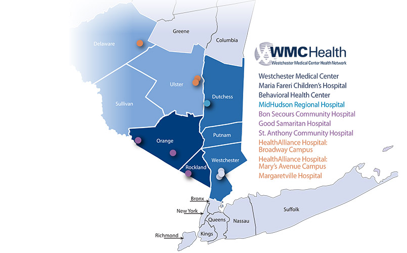Valhalla New York Map.Wmchealth Social Media Channels Advancing Care In The Hudson Valley
