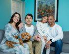 Family breathes easier